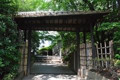 グランドプリンスホテル高輪 日本庭園 入口