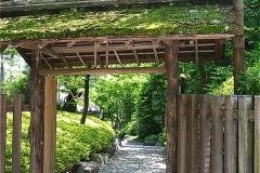 八芳園木戸門(庭園入口)