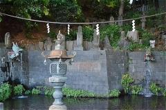 瀧泉寺(目黒不動尊)独鈷の滝