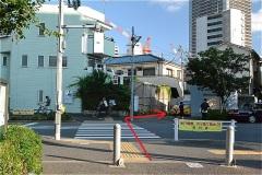 武蔵小山駅へ