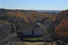 六道山公園展望台からの眺め
