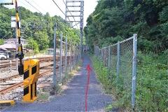 京成本線に沿って
