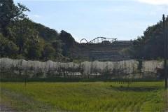 小澤城址から下りてきたところの風景
