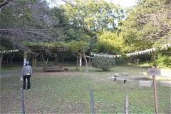 女子美の森広場