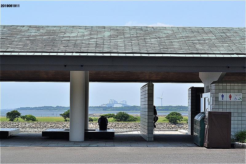 芦ヶ池前のレストハウス