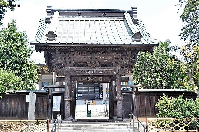 多聞寺山門(東久留米市指定文化財)