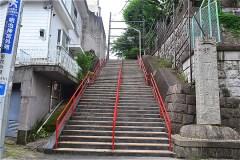 511-須賀神社 男坂下