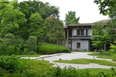 回向院別院の庭園