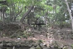 里見公園:吊り橋