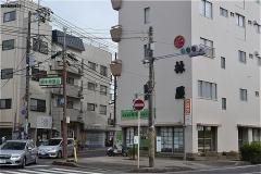 国府台駅への道・根本発展会