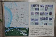 真間文学マップ
