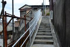 115-清水坂公園へ上る階段
