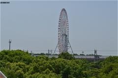 江戸川区臨海球技場・階段からの眺め
