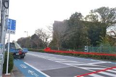 武蔵野の森公園:正門から神田外国語大学へ