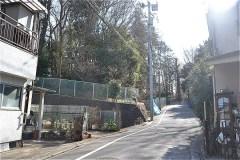 507-清水山の森北口から稲荷山憩いの森入口へ