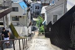 511-荒木町の階段
